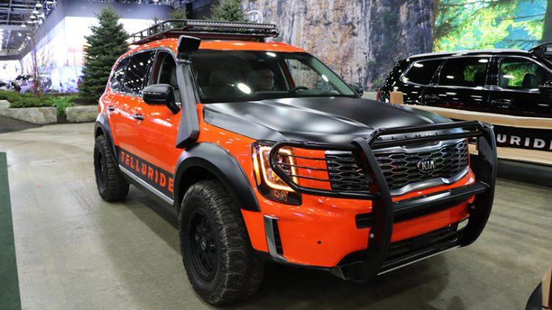 Prezantohet Kia Telluride  makina me gjashte ulëse për të gjitha terrenet
