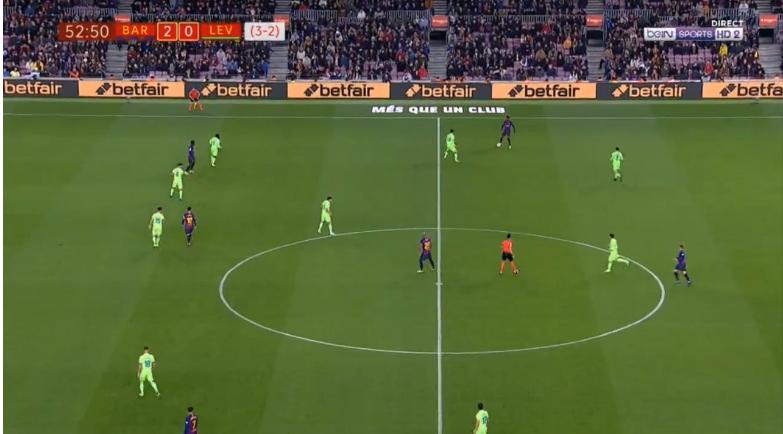 Barcelona   Levante  shënon i zakonshmi
