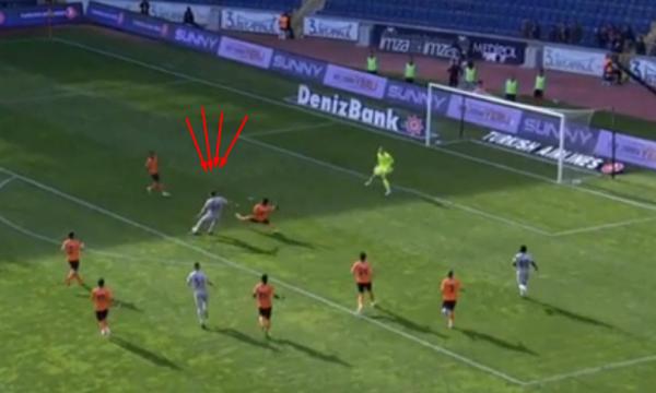 Rizespori me golin e Vedat  Muriqit e ndalë liderin e Turqisë