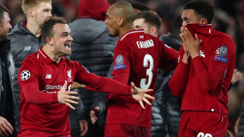 Shaqiri ia siguron Liverpoolit Ligën e Kampionëve