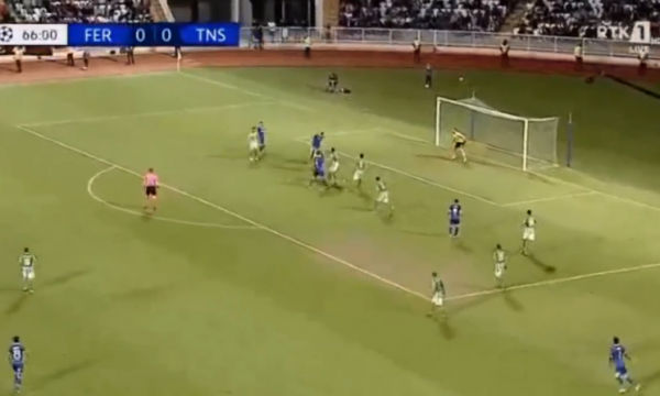 Feronikeli pëson  shënon gol TNS