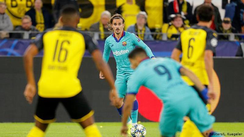 Griezmann dhe Messi dështim  ja kush është më i miri në Dortmund Barcelona