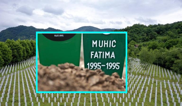 Masakra e Srebrenicës  Fatima Muhic u vra në natën që u lind